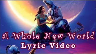 "Gambar cover ZAYN, Zhavia Ward - A Whole New World (End Title) (From ""Aladdin"") - Lyric Video"