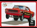 How to Build the Mustang GT Funny Car 1-25 Scale AMT Model Kit #888 Review