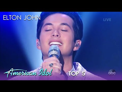 Laine Hardy: Shows Off His VOCALS With An Elton John Song | American Idol 2019