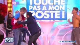 Le Hulk du poste : Rayane Bensetti affronte Gilles Verdez dans TPMP