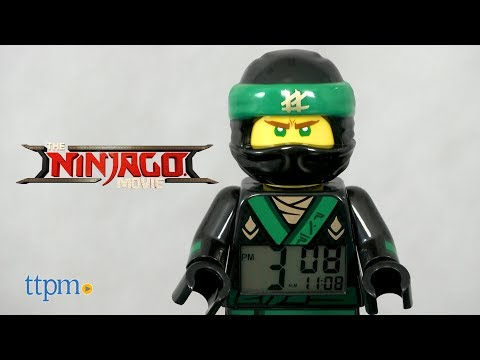 NEW LEGO NINJAGO MOVIE KAI MINIFIGURE ALARM CLOCK