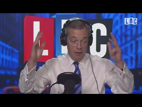 NEW - The Nigel Farage Show from New York - Brexit - Jean Claude Juncker - 21/02/2017