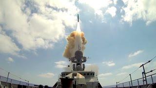 الأسطول الروسي يقصف مواقع
