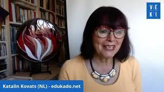 2020 VEKI: Katalin Kovats prezentas la novan eldonon de la Manlibro pri Instruado de Esperanto