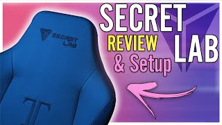 The Best Gaming chair & Editing chair | The Secretlab Titan Review & Setup