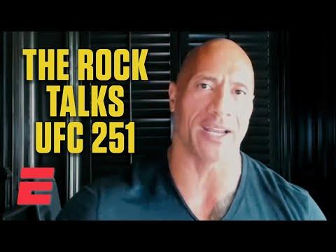 Dwayne Johnson talks Fight Island, UFC 251 & Usman vs. Masvidal