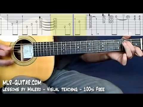 Tab Angie Mlr Guitar Lessons Youtube