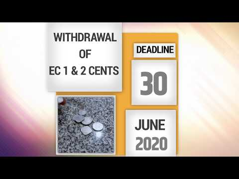 EC One and Two-Cent Coins Cease to be Legal Tender After 30 June