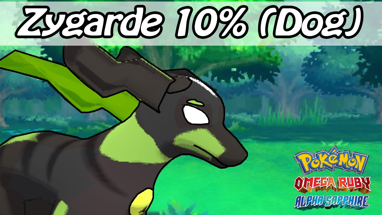 Zygarde 10 Forme Pokemon Omega Ruby And Alpha Sapphire