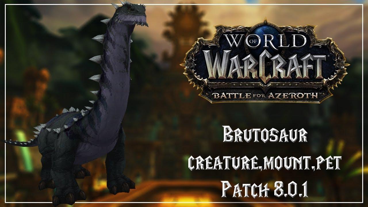 brutosaur creature mount pet