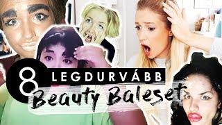 A 8 LEGDURVÁBB BEAUTY BALESET | REAKCIÓ VIDEÓ ♡ Chloe From The Woods
