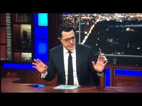 Colbert announces he's giving up meat for Lent