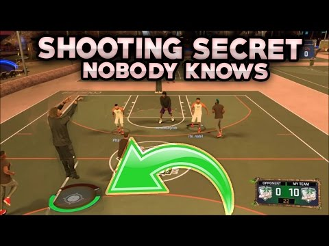 ONLY 1% KNOW THIS SHOOTING SECRET ! GREENLIGHTS FROM ANYWHERE ANY ARCHETYPE NBA 2K17 MYPARK JUMPSHOT