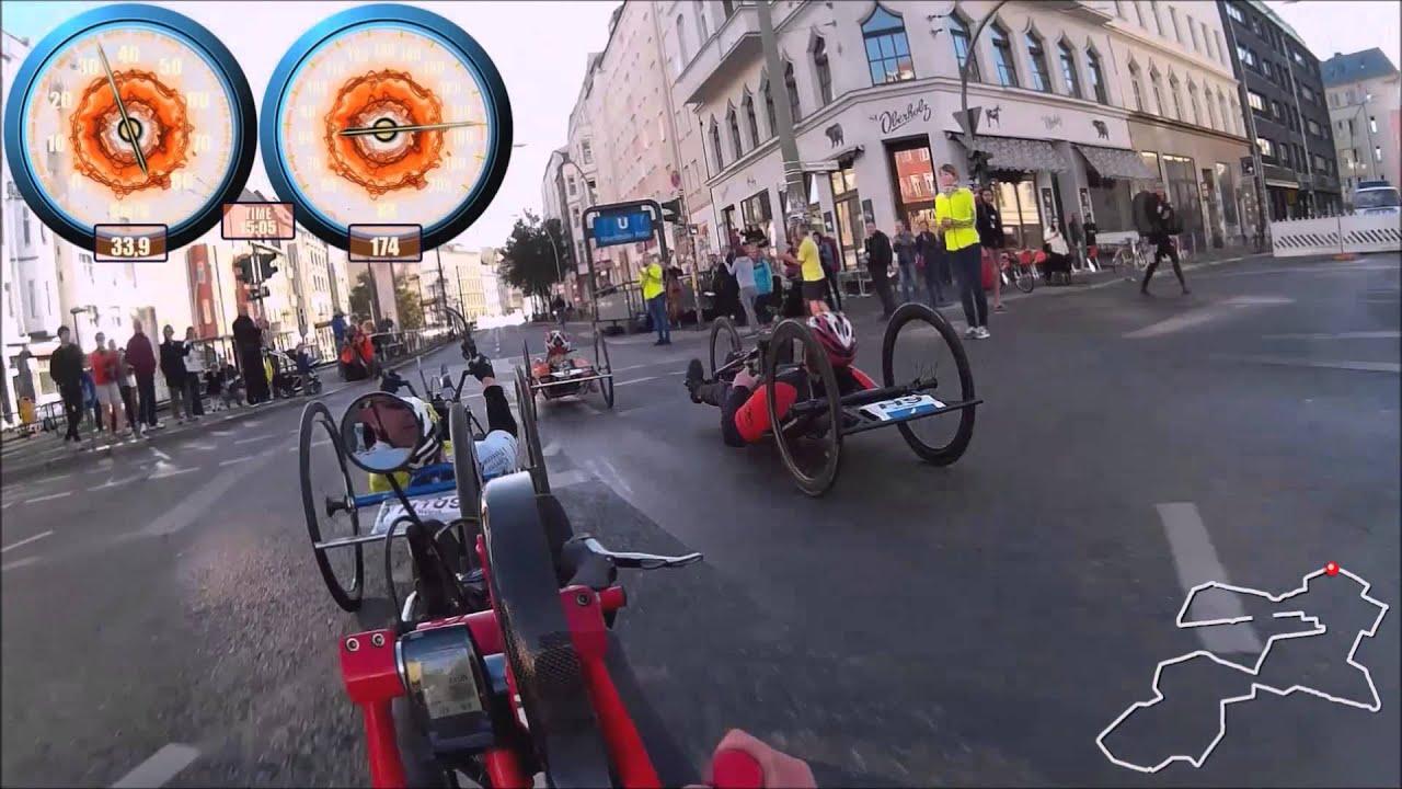 berlin marathon 2015 handbike youtube. Black Bedroom Furniture Sets. Home Design Ideas
