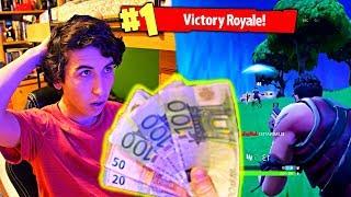 Le Doy $500 a Mi Hermano Si Gana una Partida en Fortnite: Battle Royale