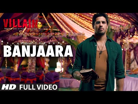 Banjaara Full Video Song  Ek Villain  Shraddha Kapoor, Siddharth Malhotra