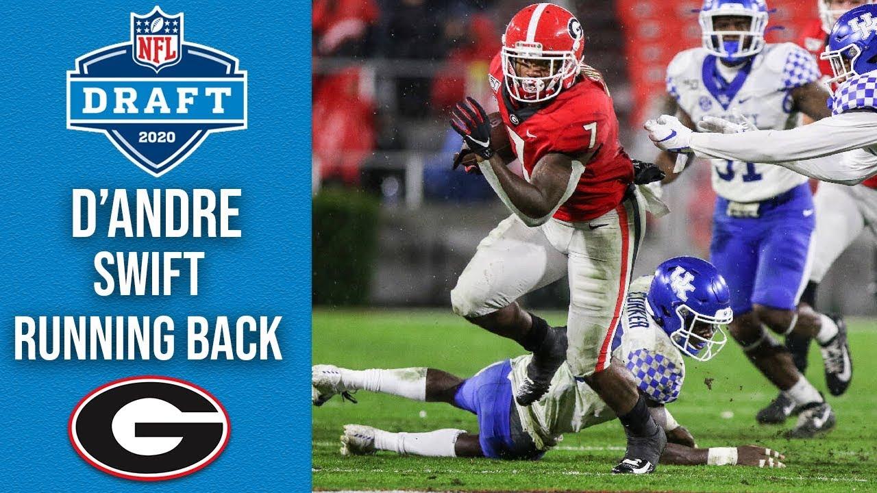 D'Andre Swift | Running Back | Georgia | 2020 NFL Draft Profile