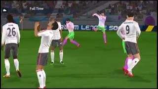 Real Madrid vs Real Madrid Ultimated Challange Final   Dream League Soccer 2018   Gameplay #97