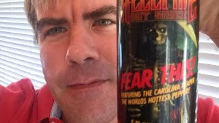 """Chile Beast & Son Reviews """" Fear This"""" Reaper"""" Hot Sauce Hellfire Hot Sauce"""