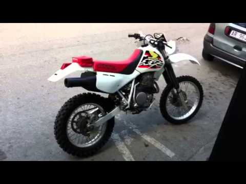 honda xr 600 r dall 39 ara 1998 originale youtube. Black Bedroom Furniture Sets. Home Design Ideas