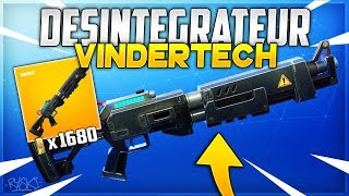 Fortnite: The Return of the Vindertech Rifle on Fortnite Save the World!! - ( Disintegrator)