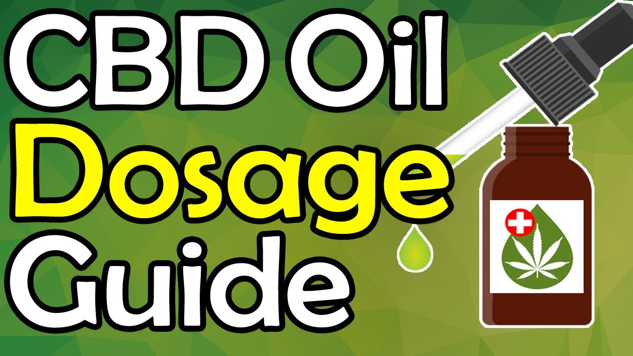 CBD Oil Dosage: THIS Is The RIGHT CBD Dosage For YOUR Condition! || How Much Cannabidiol To Take