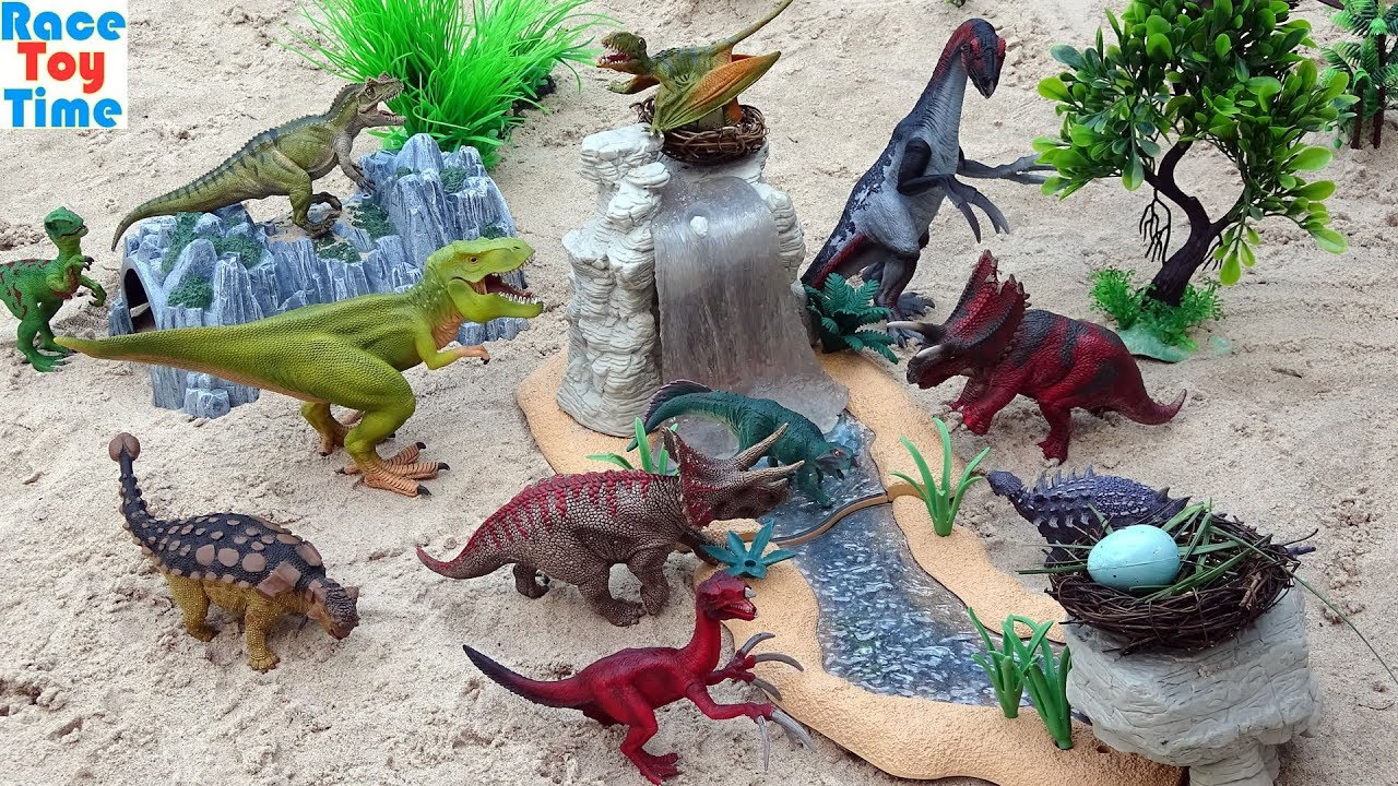 Dinosaurs Toy For Kids - Learn Dinosaur Names For Kids Video