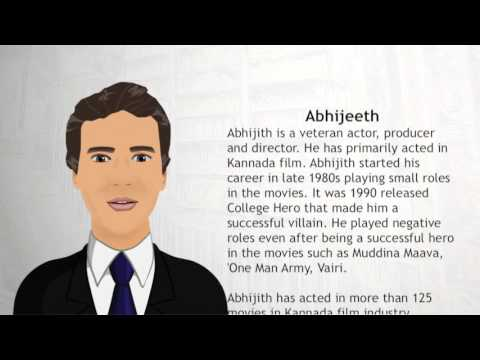 Abhijeeth - Wiki Videos