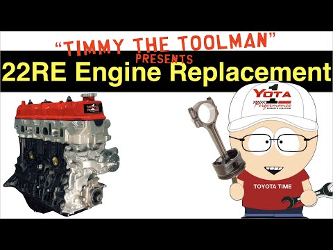 Toyota 22RE Engine Replacement (Part 1)
