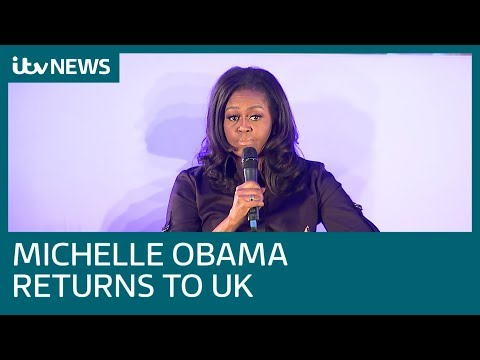 Michelle Obama reunited with London schoolgirls she met in 2009 | ITV News