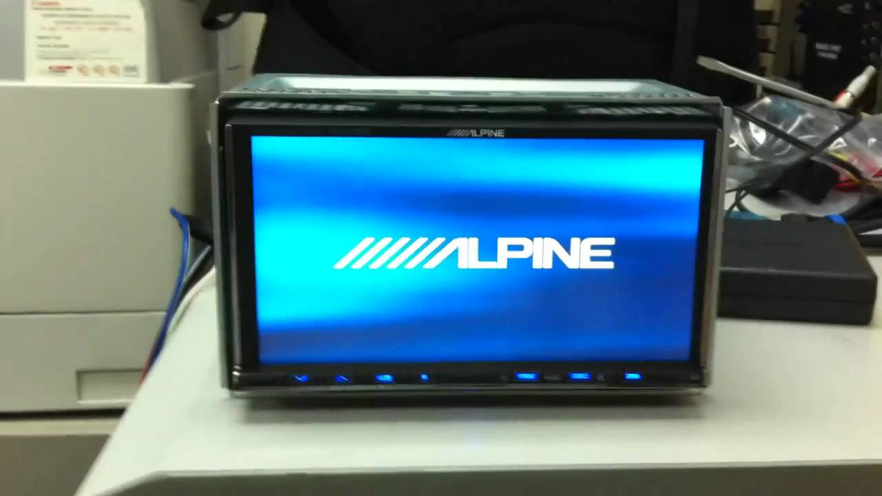 Wc Set Alpine Iva-w502e Bluetooth P1 - Youtube