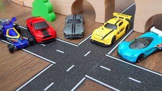 5 супер машин - Мультики про машинки игрушки Город Машинок 319 серия Видео для детей