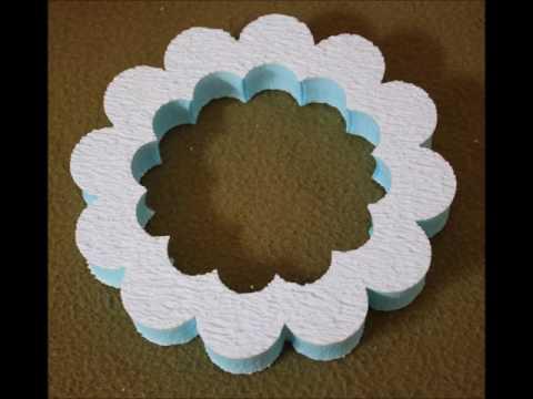 Kreatívne polotovary - polystyrénové výrezy