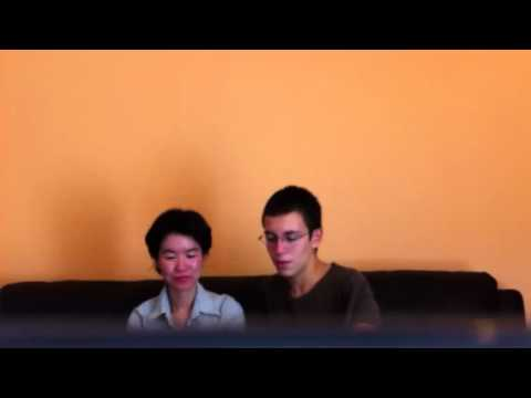 Robbie Ward interview Taiwanese accent