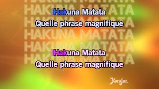 Karaoké Hakuna Matata - We Love Disney *
