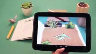 3D-книги с оживающей реальностью