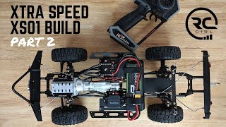 XTRA SPEED XS01: Build Highlights & Electronics (Pt. 2)