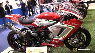 2016 MV Agusta F3 RC with Zard Exhaust - Walkaround - 2016 EICMA Milan