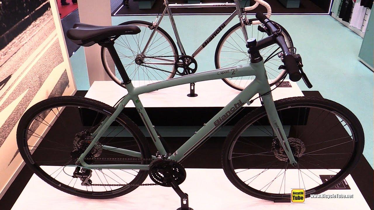 2017 Bianchi C Sport City Trekking Bike Walkaround
