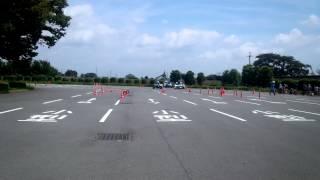 9月6日群馬運輸支局  自動車点検整備推進デー 白バイ隊デモ走行