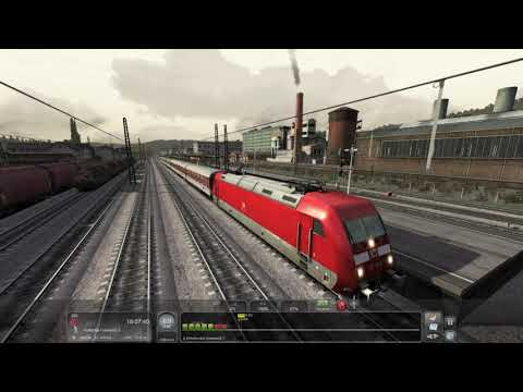 Last Leg to Siegen - Ruhr Sieg Line - DB BR101 DBAG Red - Train Simulator 2021 |