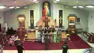 Bàn Tay Cứu Độ trình bày Nhạc Đoàn Thương Xót