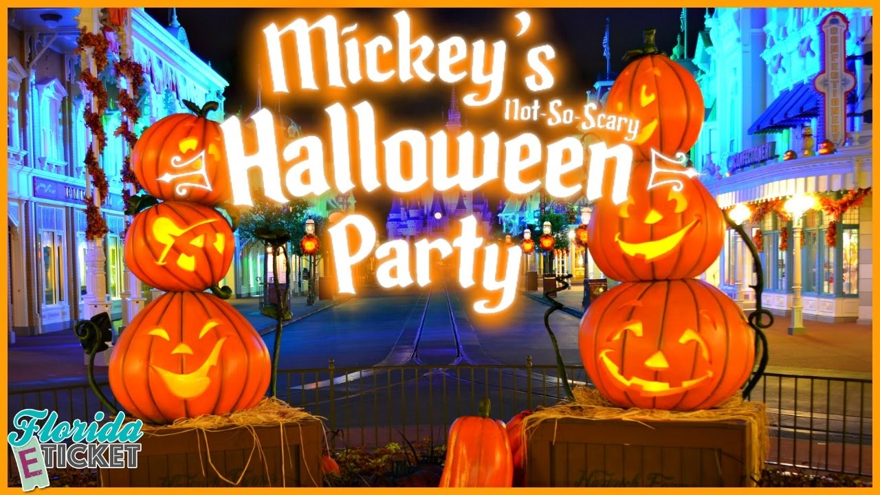Halloween In Disney Florida.Florida E Tick Or Treat Mickey S Not So Scary Halloween Party Oct 1 2016