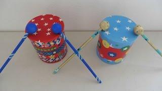 DIY- Tambores ⭐️/ Drums ⭐️ - Creative Flower