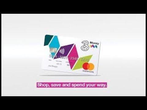 3Money Prepaid Credit Card | Three Ireland