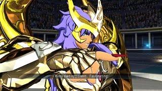Saint Seiya Soldier's Soul: Scorpio Miro God Cloth Moveset Gameplay [PS4] (English)
