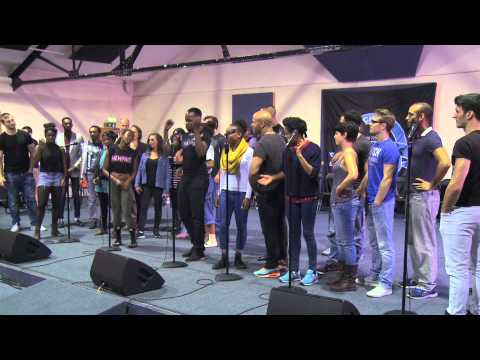 Memphis the Musical – London Rehearsals