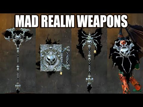 Mad Realm Weapon Skins ● Guild Wars 2 thumbnail