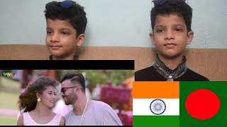 INDIANTWINS FILMY REACTION  Dil Dil Dil Song ||Shakib Khan | Bubly | Imran and Kona