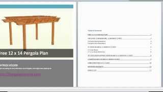 Get 25 Pergola Plans And Learn The Basics For Pergola Design